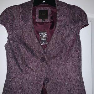The Limited short sleeve blazer- NWT
